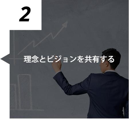 2. 理念とビジョンを共有する